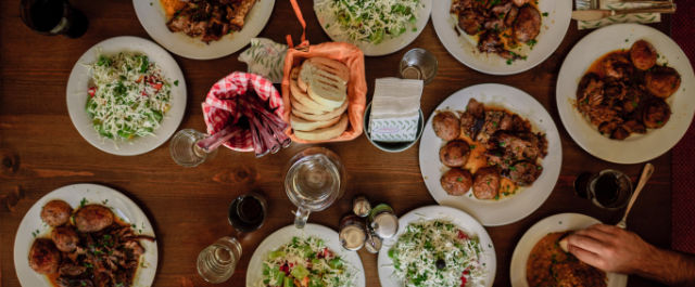 Girl sitting at the table in front of food not wanting to eat | Eating Disorders